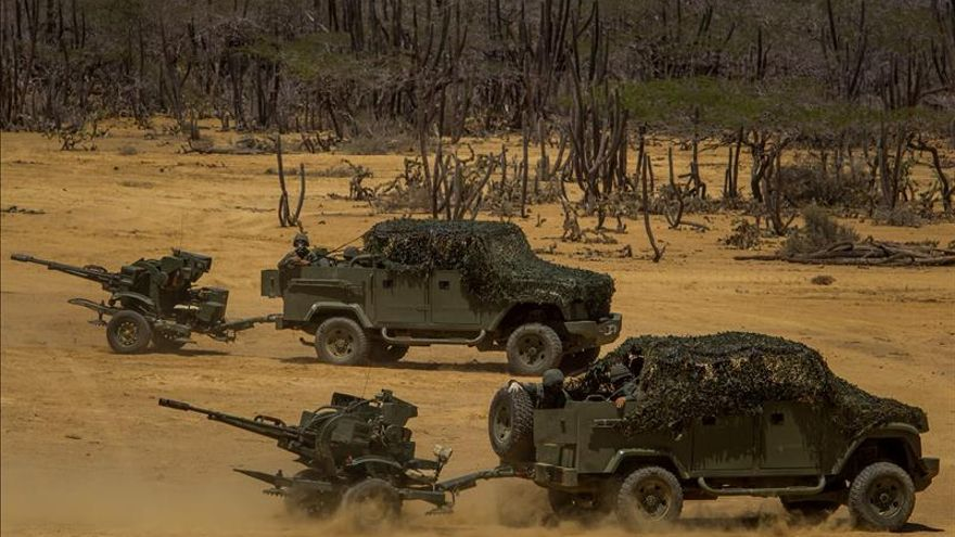 Ejercicios militares venezolanos con 7.173 soldados y 3.323 medios de guerra
