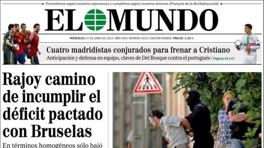 De las portadas del día (27/06/2012) #8