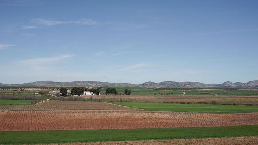 Finca de Montachuelos, en Granátula de Calatrava (Ciudad Real)