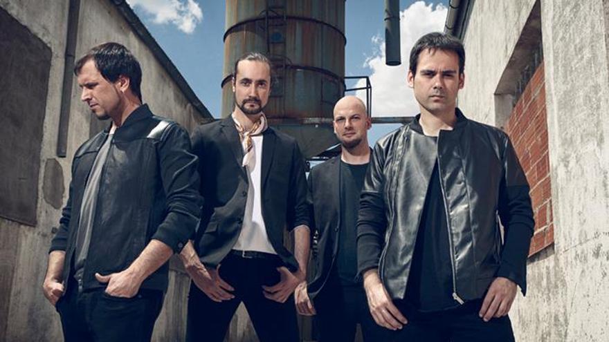 El grupo de música Dardem.