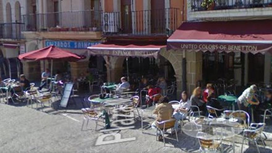 Plaza, Mayor, Plasencia