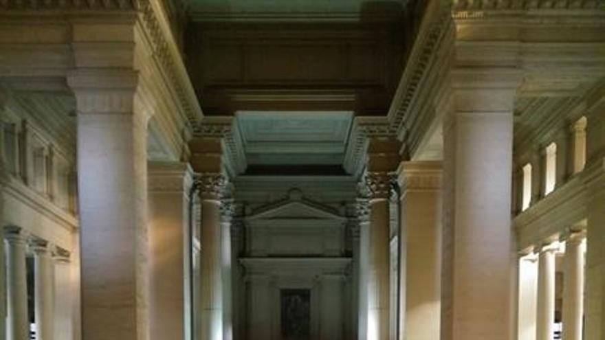Vista del interior del Palacio de Justicia de Bruselas / EFE