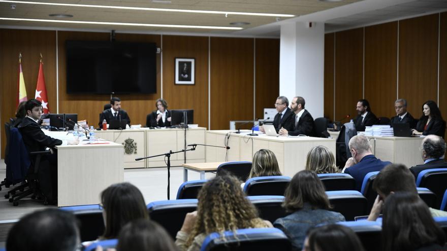 Imagen del juicio por la destrucción de los ordenadores de Bárcenas.