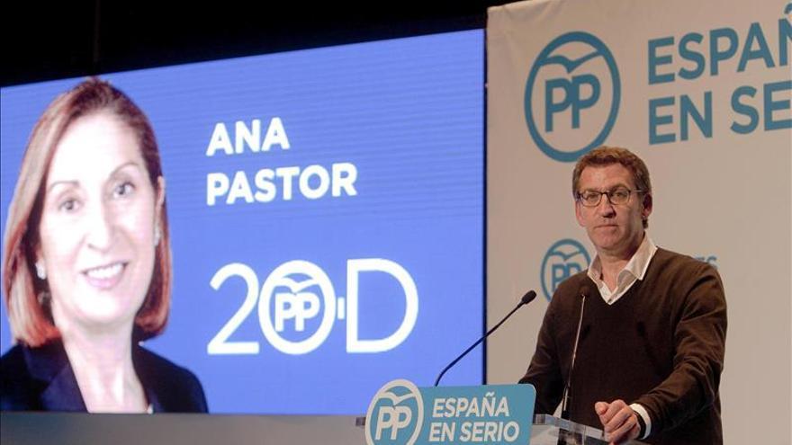 """Feijóo pide un """"gobierno estable"""" y no levantarse mañana """"con incertidumbres"""""""