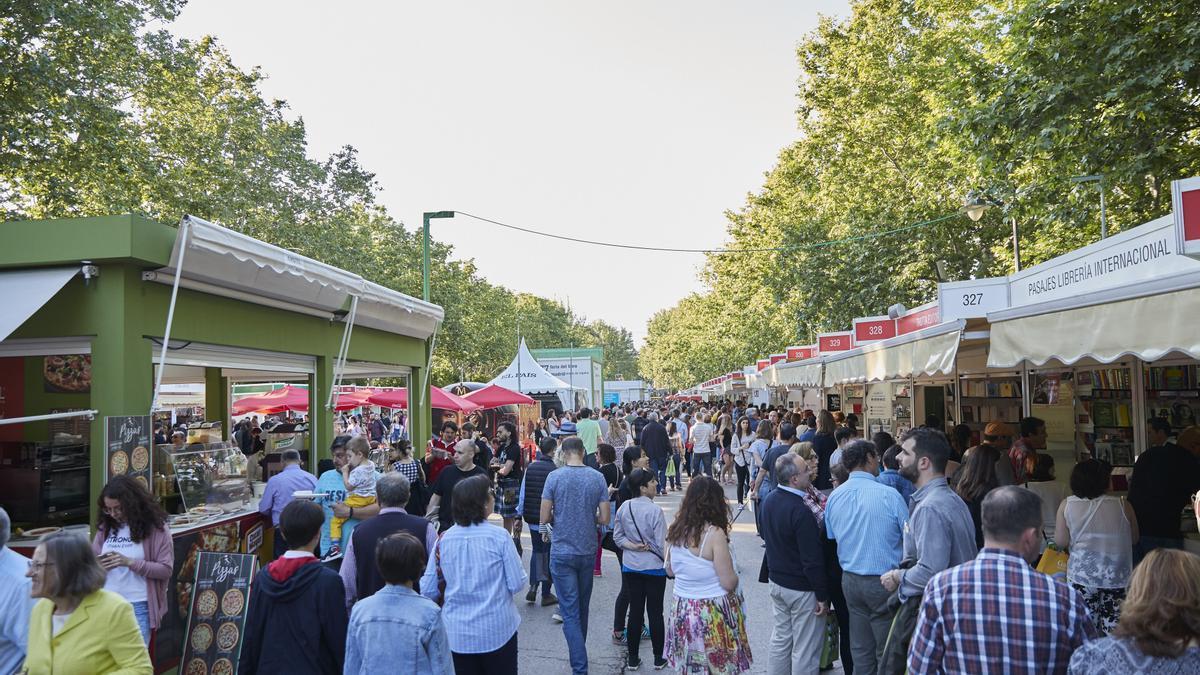 Feria del Libro de Madrid de 2018, sin aforo reducido