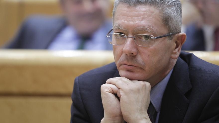 """Gallardón dice que """"hoy es un día muy importante para España"""" y elude preguntas sobre el aforamiento"""