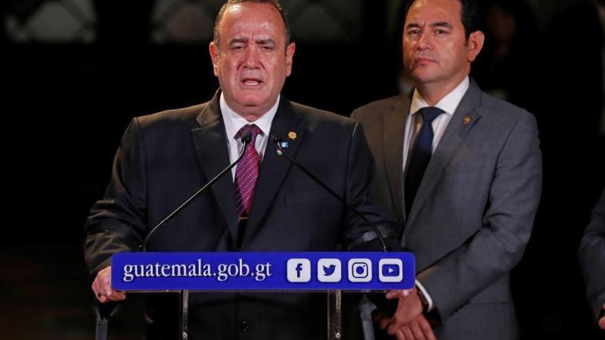 El presidente electo de Guatemala será observador del pacto migratorio con EE.UU.