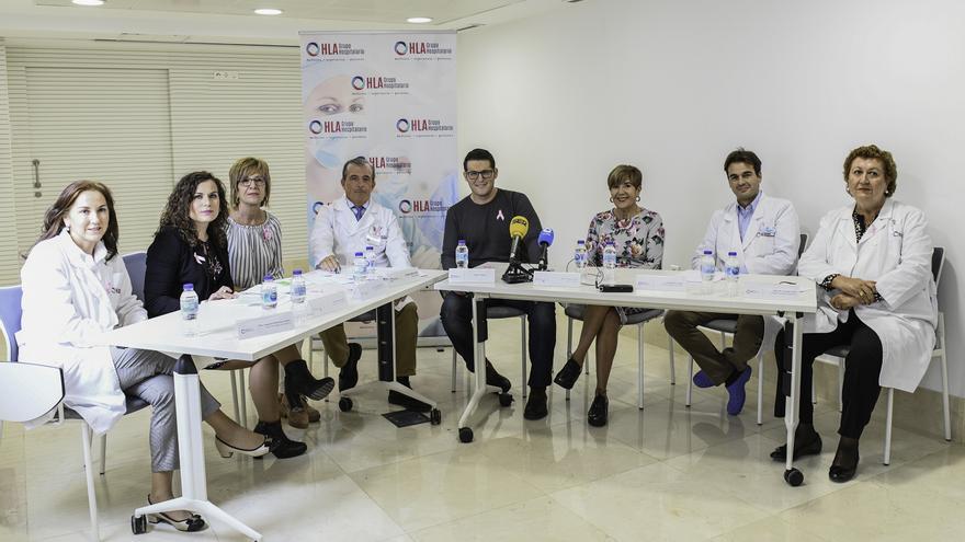 El Hospital La Vega presenta su nueva Unidad de la Mujer junto a Manu Tenorio