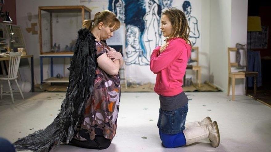 El Guggenheim acoge el estreno en España de la obra de la videoartista finesa Eija-Liisa Ahtila 'La Anunciación'