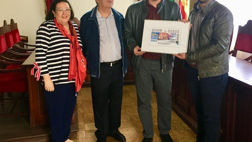Acto de presentación del cupón de la ONCE de Puntagorda.