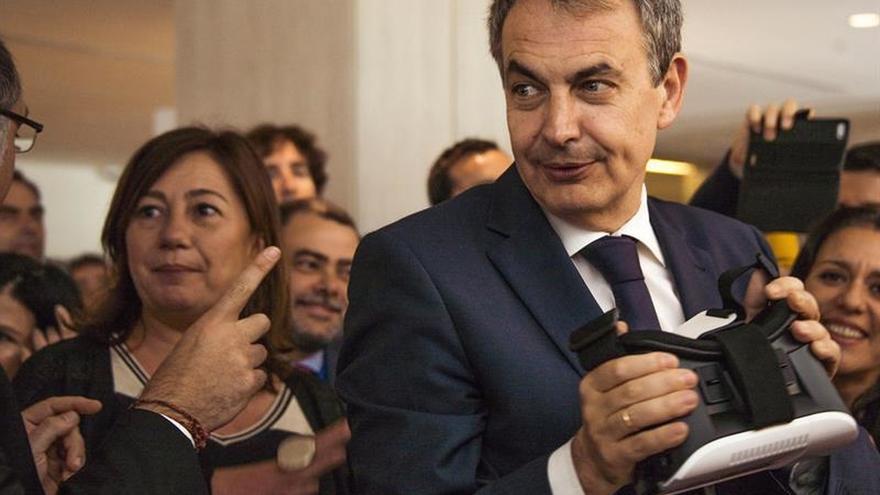 """Zapatero subraya la visión de la """"España plural"""" de Susana Díaz"""