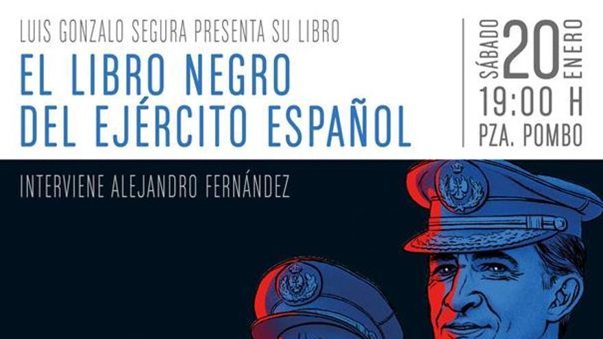 Ilustración de la portada de 'El libro negro del Ejército Español'.