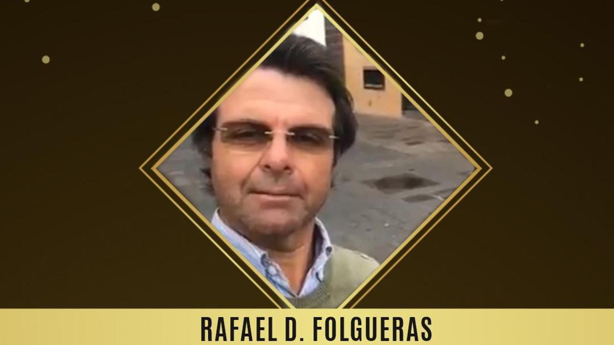 Premio Tolete 2020 a Rafael Folgueras
