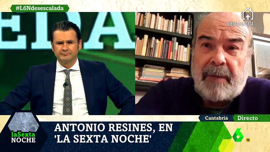 """Antonio Resines, en 'laSexta Noche': """"El Estado tiene que poner dinero encima de la mesa para la cultura"""""""