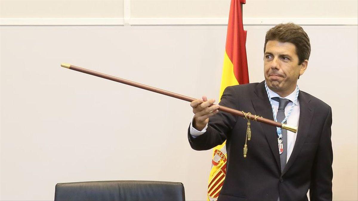 El nuevo líder del PP valenciano y presidente de la Diputación de Alicante, Carlos Mazón.