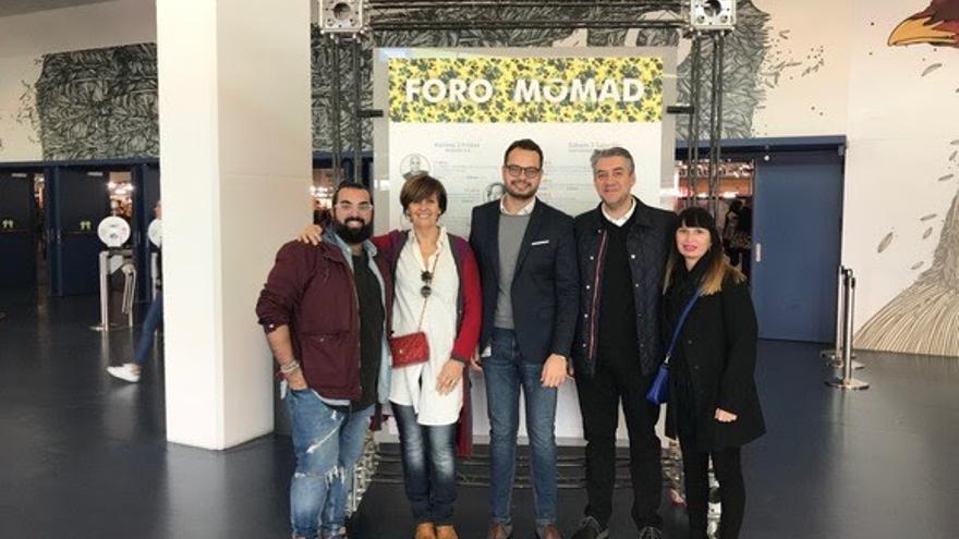 Jesús Gutiérrez (i), Ana Rodríguez, Jordi Pérez, Pedro Ferreiro y Waleska Morín.