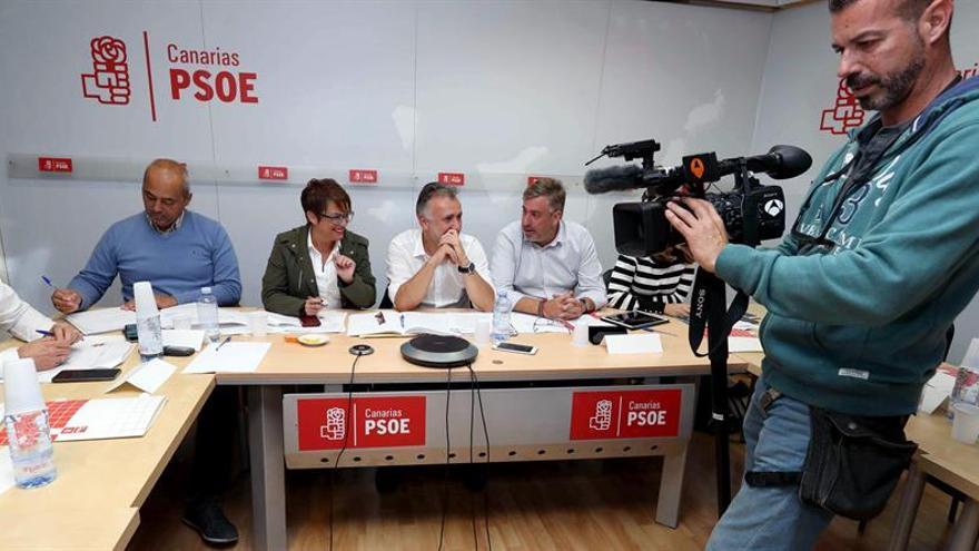 Comisión Ejecutiva Regional del PSOE Canarias celebrada en diciembre de 2017
