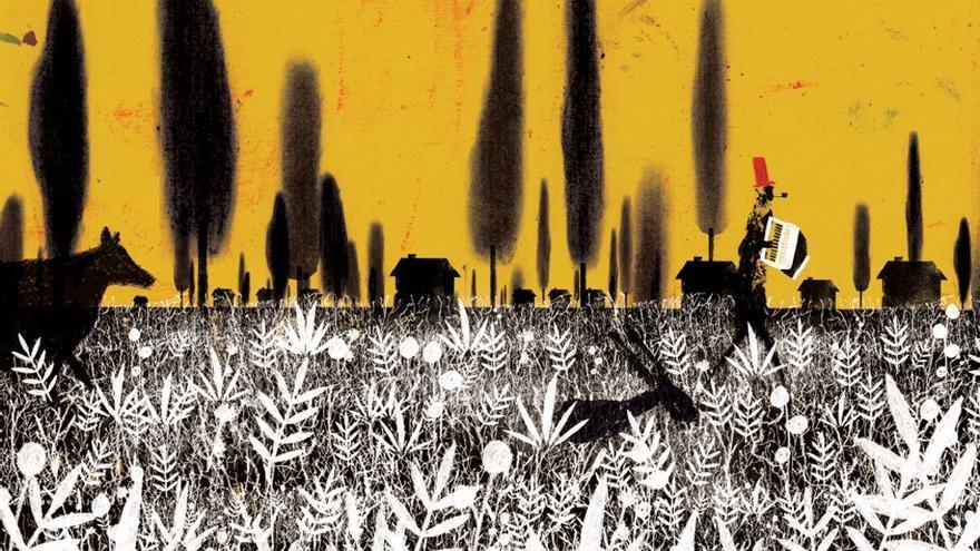 Ilustración del calendario revolucionario de la Editorial Milrazones.