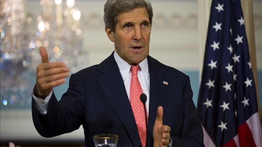 Kerry afirma que EEUU que tiene pruebas de que el régimen sirio usó gas sarín