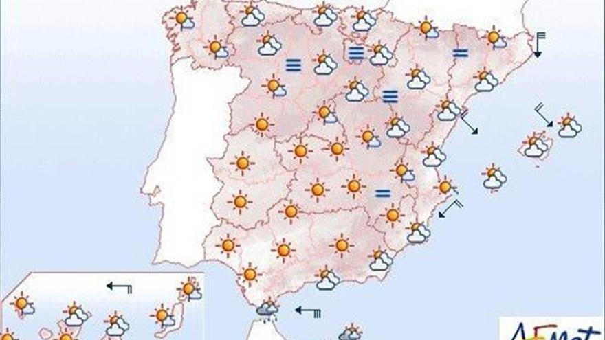 Hoy, viento fuerte en el área del Estrecho, Gerona y las islas Canarias
