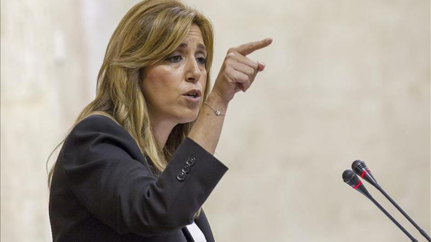 """Susana Díaz anuncia que irán a los tribunales por el """"incumplimiento"""" de la ley de financiación"""