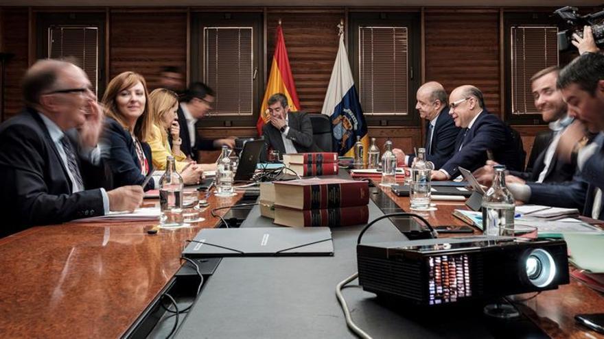 Reunión del Consejo de Gobierno de Canarias