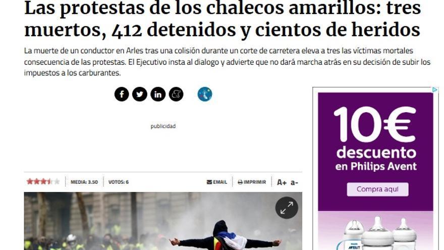 MUERTOS CHALECOS AMARILLOS