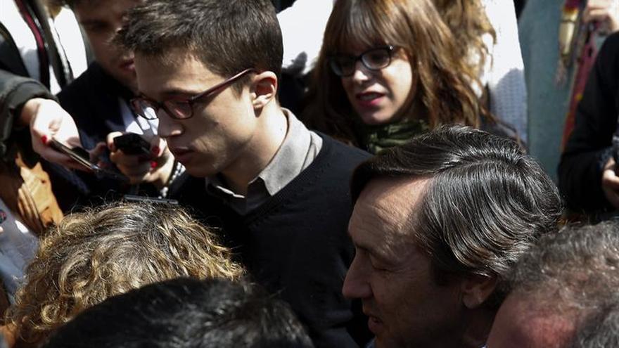 Errejón cree que hoy no es el momento de hablar sobre negociación con el PSOE