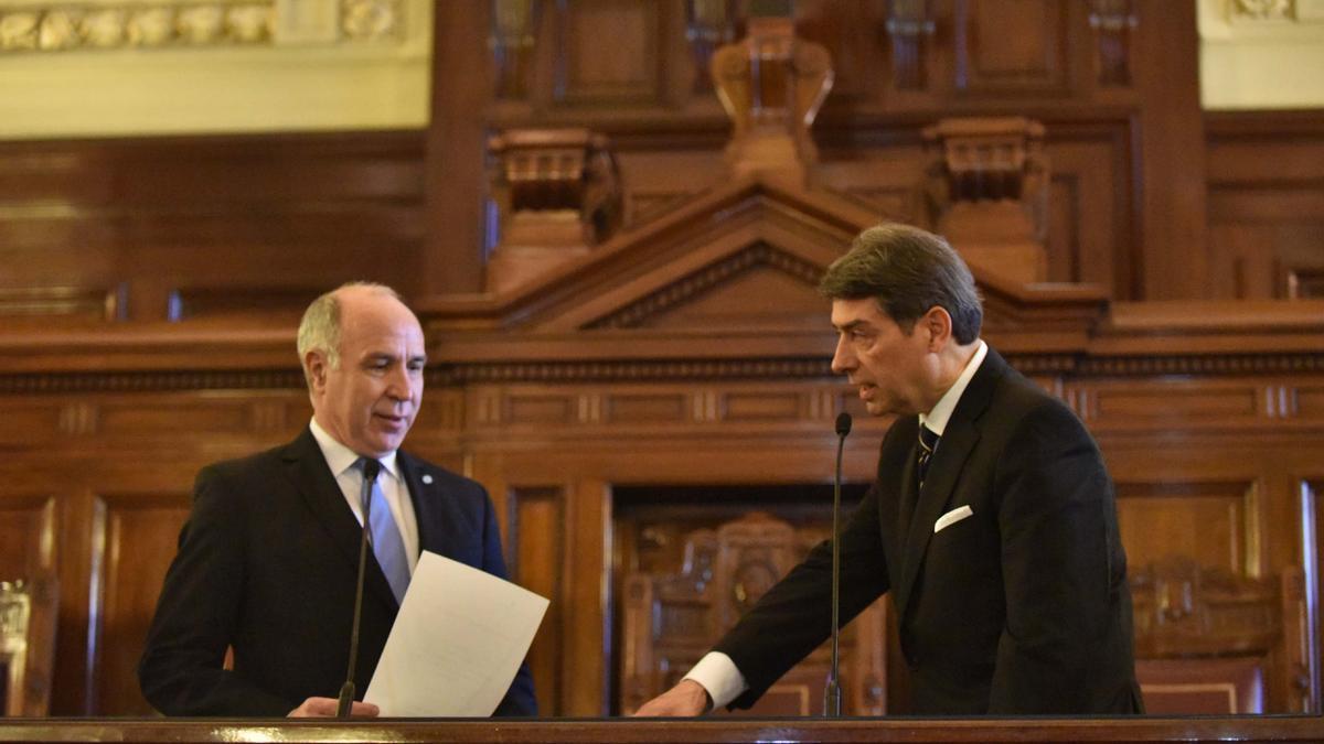 Horacio Daniel Rosatti juró el 29 de junio de 2016 como juez de la Corte Suprema de Justicia de la Nación en una ceremonia celebrada en el Palacio de Tribunales y que encabezó el entonces presidente del máximo tribunal, Ricardo Lorenzetti.