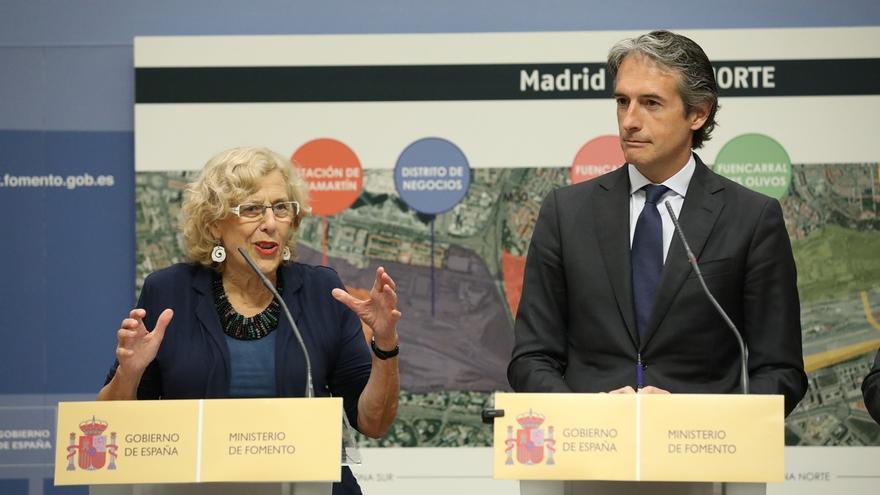 Cifuentes pide que DCN pague 3 estaciones de Metro y las obras del Canal para apoyar Madrid Nuevo Norte