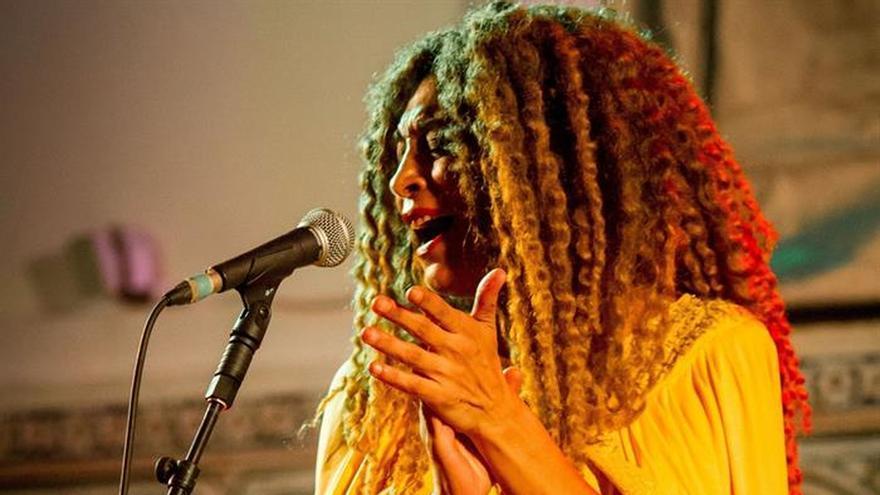 La Negra hace vibrar el público en la apertura del festival de jazz de Tánger