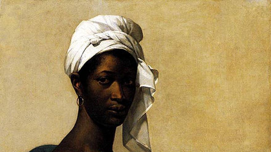 Retrato de una negra/ Museo del Louvre