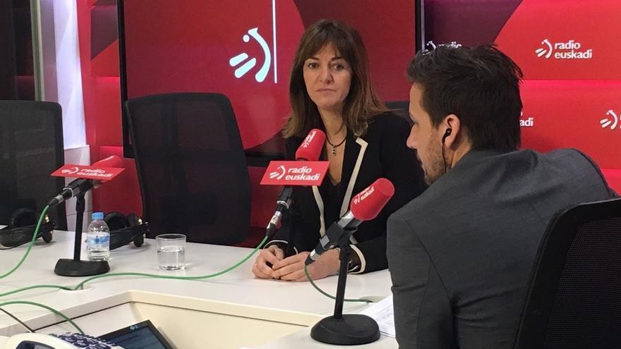 """Mendia confirma que se presentará como candidata a primarias de PSE porque está """"comprometida con los militantes vascos"""""""