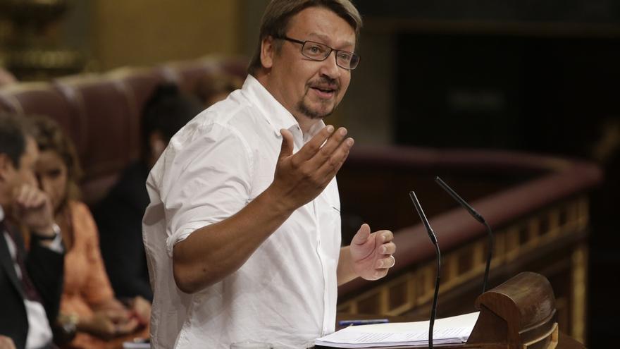 Domènech (ECP) propondrá que el Congreso aborde el referéndum en la Comisión Constitucional