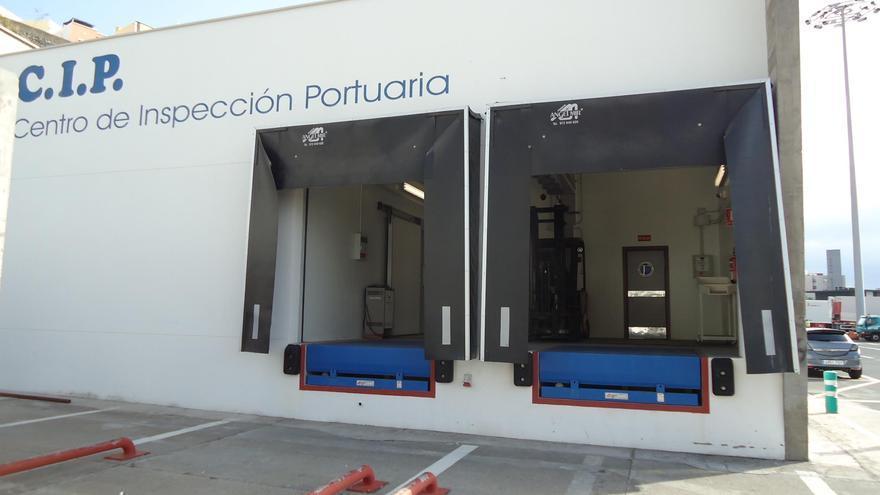 En la imagen, las instalaciones del Punto de Inspección Portuaria.