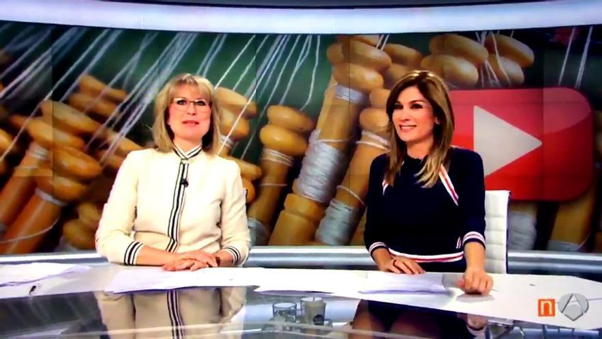 Matías Prats crea escuela: el 'chascarrillo' de María Rey en 'Antena 3 Noticias'
