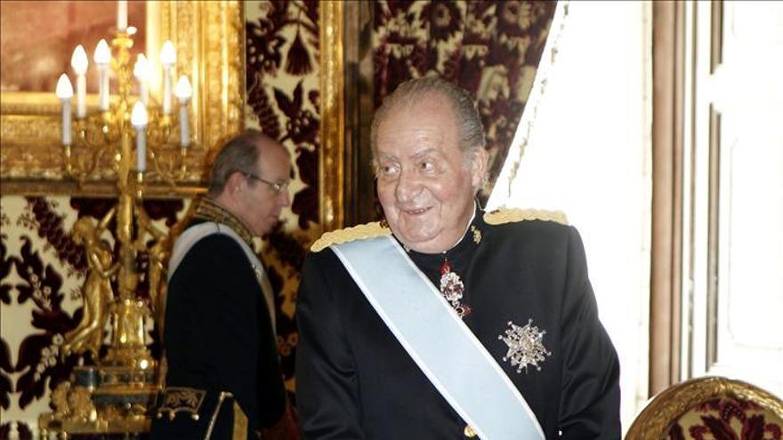El rey Juan Carlos. / Efe
