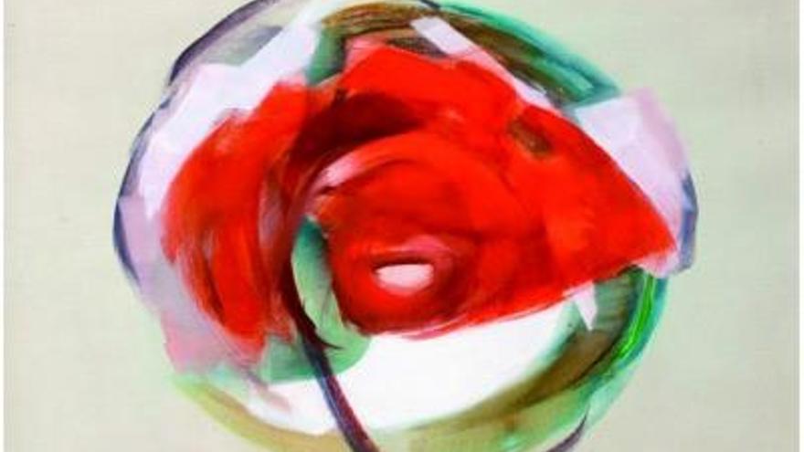 Obra de Kozo Okano, artista japonés radicado en Cuenca