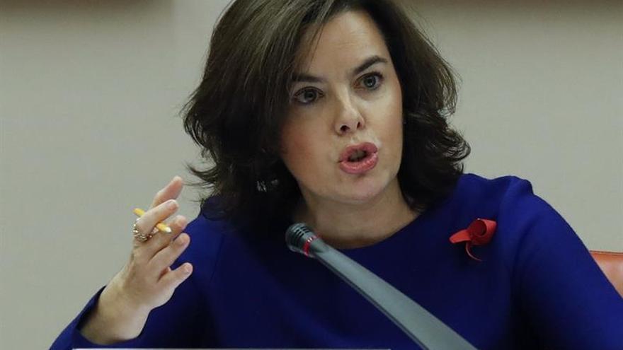 S.Santamaría sólo ve reforma de la Constitución con consenso, concordia y prudencia