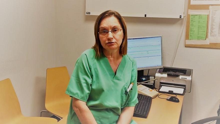 Fátima Nercellas, delegada de personal en las Urgencias del Clínico de Santiago