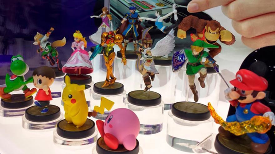 Nintendo Amiibo figuritas