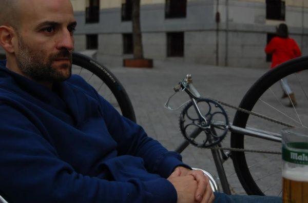 Pedro Bravo, el autor de 'Biciosos'