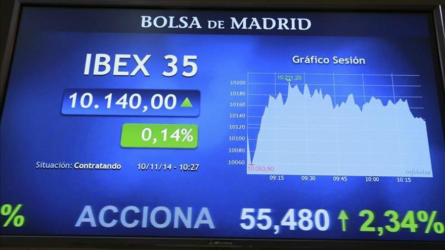 El IBEX 35 abre con ganancias del 0,52 % y se sitúa en 10.192 puntos