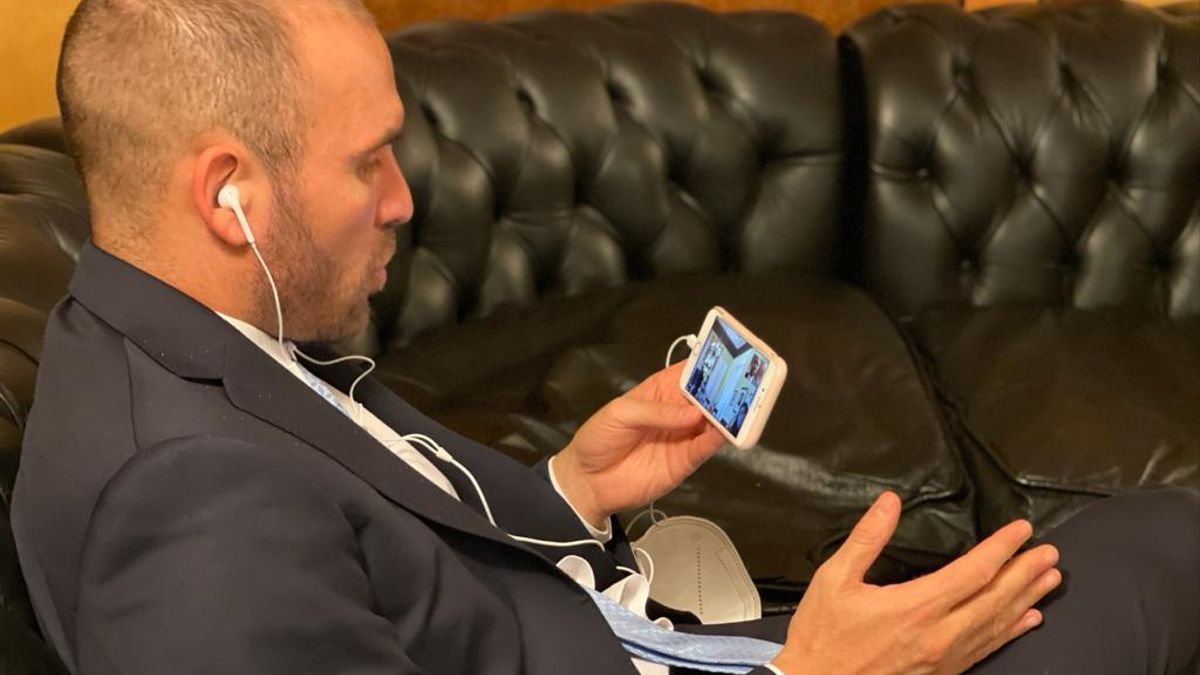 Guzmán participó de la reunión de gabinete vía zoom: avisó que la inflación de marzo fue alta