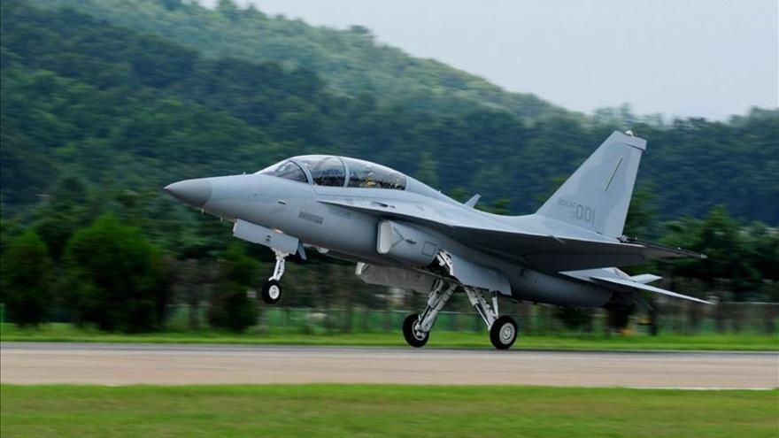 Corea del Sur desarrollará sus nuevos cazas tras la negativa de EEUU