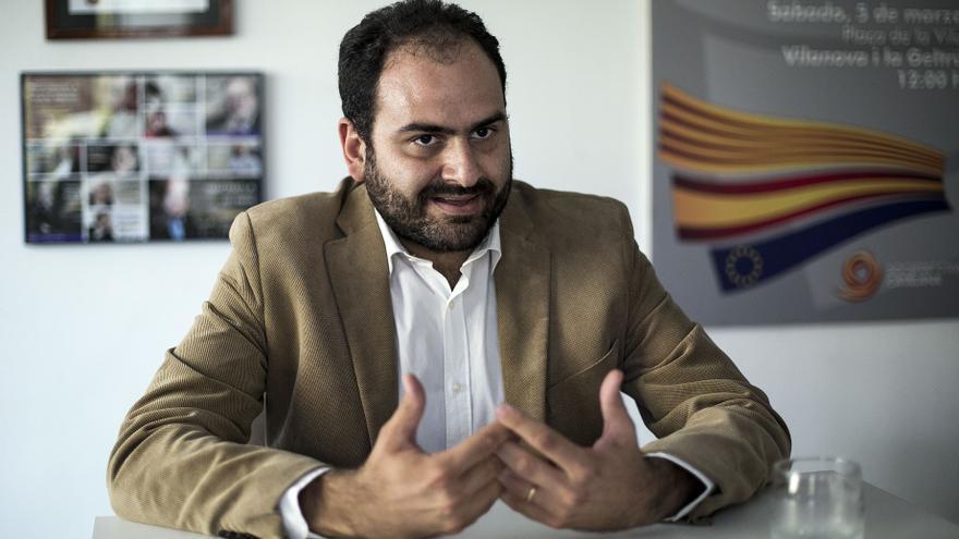 El presidente de SCC, Fernando Sánchez Costa, el pasado lunes en Barcelona.