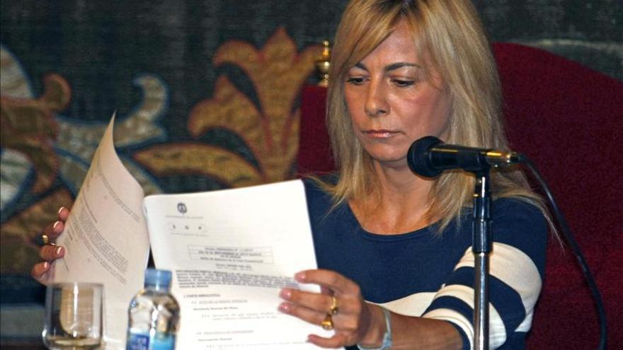Castedo afirma que no ha sido acusada de delito económico alguno en Brugal