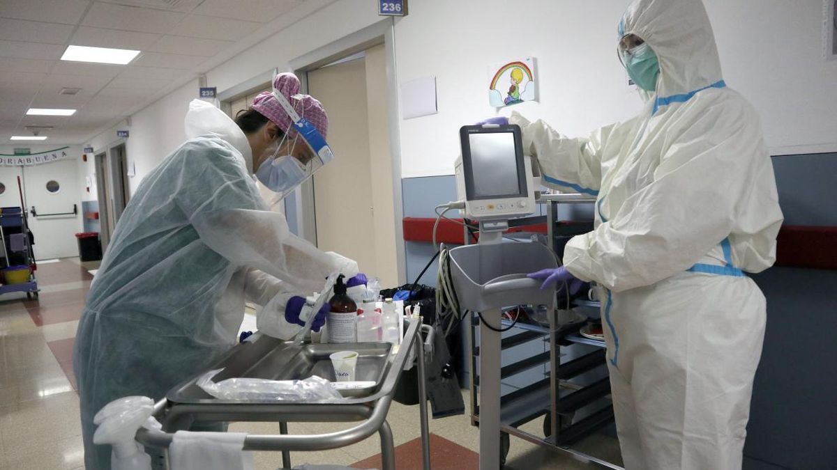 Sanitarios coronavirus en Castilla-La Mancha