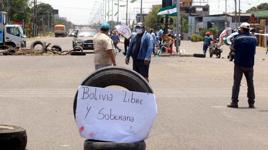 Nuevos bloqueos en la mayor ciudad de Bolivia contra el resultado electoral