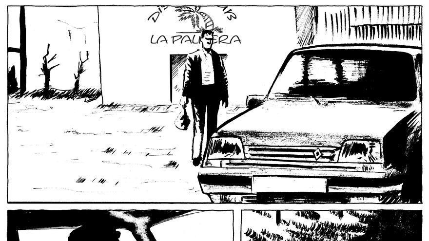 Página de la novela gráfica 'Os dias do cometa'